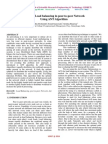 Effective Load balancing in peer-to-peer Network  Using ANT Algorithm