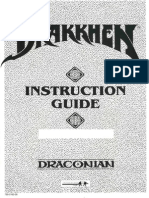 Drakkhen Instruction Guide