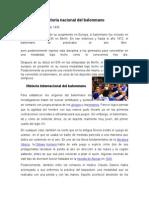 Historia Nacional Del Balonmano