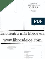 Historia Ilustrada de La Ópera