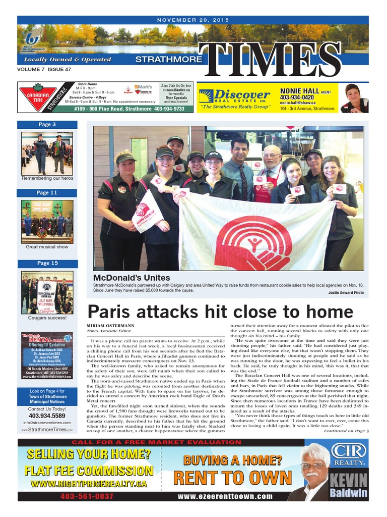 November 20, 2015 Strathmore Times   Ford F Series   Annual