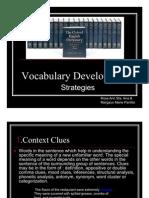 Vocabulary Development Strategies