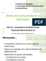 Aula12 - Arquitetura de Redes Locais