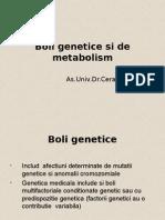 7. Boli Genetice