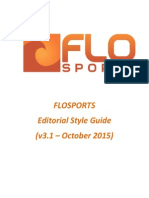 FloSports Style Guide v3.1