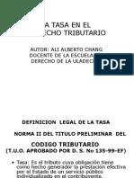 Sesion 04 La Tasa.ppt