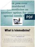 telemedicine for cshcn powerpoint pwpt version pdf