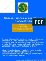 Science Tech Sanskrit Ancient India MGPrasad