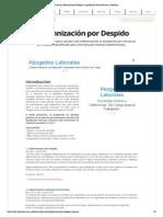 Calculo Indemnizacion Despido _ Liquidacion Final Renuncia _ Laboralis