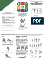 folleto amputados