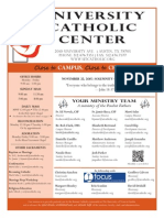 UCC Bulletin 11-22-2015