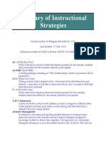 glossary of instructional strategies
