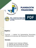 Planeacion Financiera Msc Jose Cruz Lopez