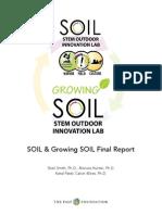 SOIL & Growing SOIL Final Report