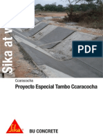 Sika at Work Proyecto Especial Tambo Ccaracocha