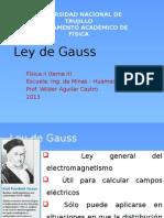 Ley de Gauss(Tema II)2013