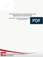 SOP Kerjasama Dan Kemitraan MITI KM 2014 FIX