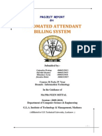 Automated Report Attendant