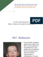 ALGORITMOS MALFORMACIONES CONGÉNITAS
