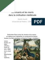 Les Vivants Et Les Morts Dans La Civilisation Médiévale