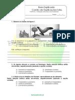 B.1 Teste Diagnóstico Ecossistemas 6
