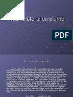 Acumulatorul Cu Plumb