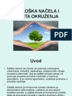 Ivana Đorđević - Ekološka Načela i Zaštita Okruženja