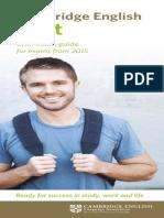 Fce Brief Exam Guide 2014 Document