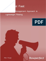 A Project Management Approach to Lighweight Rowing