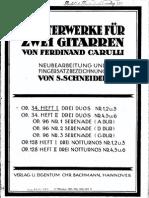 f.carulli.tres Duos. Op.34 (1,2 y 3)