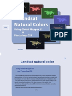 Landsat 7 Natural Colors