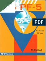 16PF-5 Manual 0-10