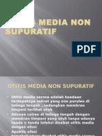 Otitis Media Non Supuratif
