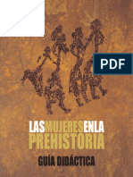 Guia Dones Castellano Mujeres en La Prehistoria