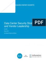 Infonetics Datacenter Security Report 2015