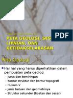 Peta Geologi Komplek.