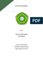 laporan hitung eritrosit