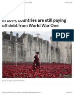 In 2014, Countries Are Still Paying Off Debt From World War One - Quartz
