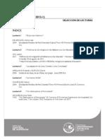 Selección de Lecturas ITS 2012-1