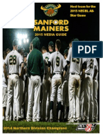 2015 sanford mainers media guide