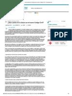 ¿Qué Cambia en La Salud Con El Nuevo Código Civil_ - DocSalud