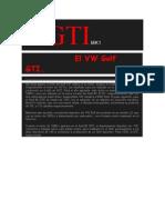Historia Vw Golf Gti Original