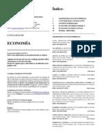 Catalogo de Libros Economia