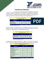 Informe Exportaciones Esparrago Junio 2004