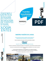 Manual Fuentes Transitables