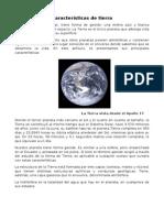 Características de Tierra