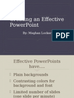 effective powerpoints