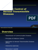 Infection Control of Aerosol Transmissible Diseases