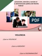 Prevención de la Violencia y Acoso Sexual