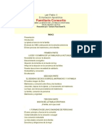 Familiaris Consortio Resumenuan Pablo II